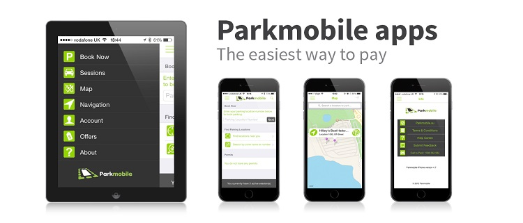 Free ParkMobile Apps halve the time it takes to pay